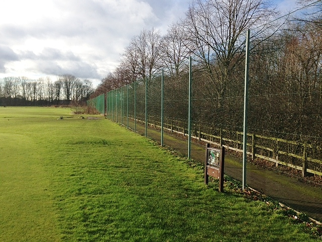 Sports Fence at a Private School